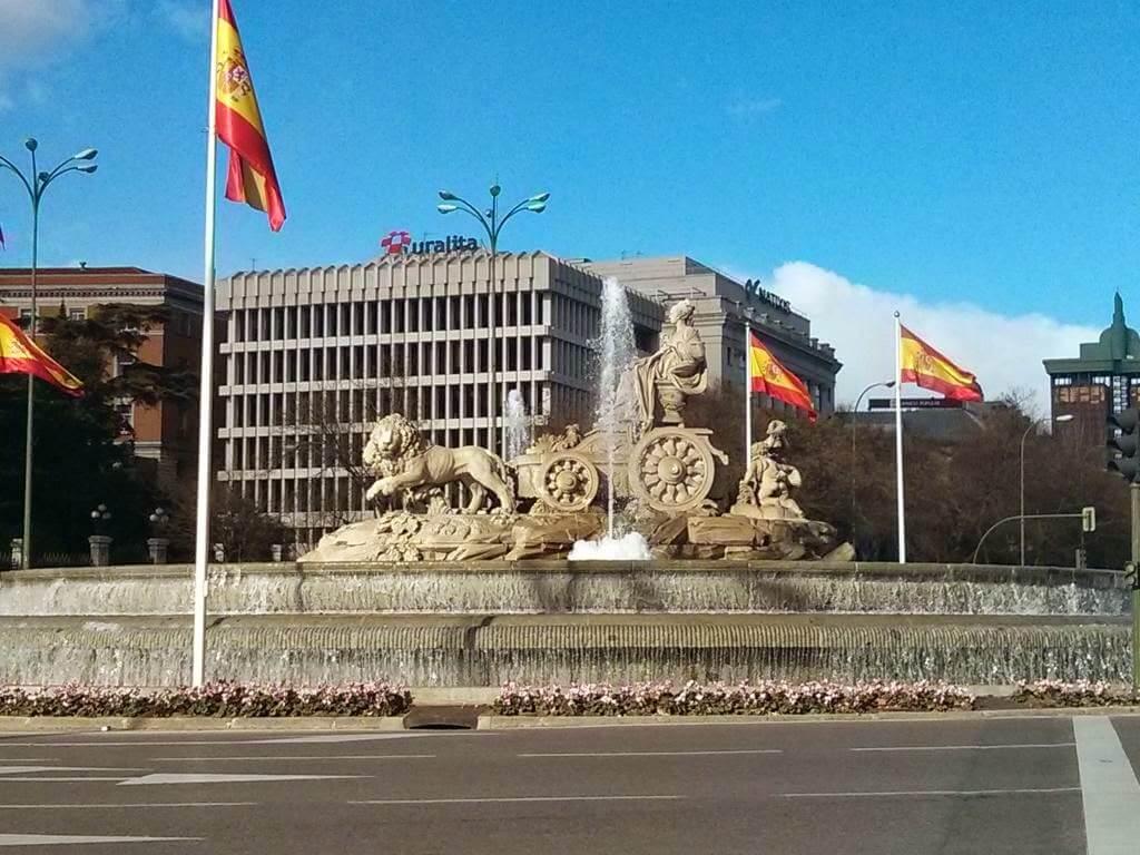 ¿Qué ver en Madrid en un día? Fuente de la Cibeles