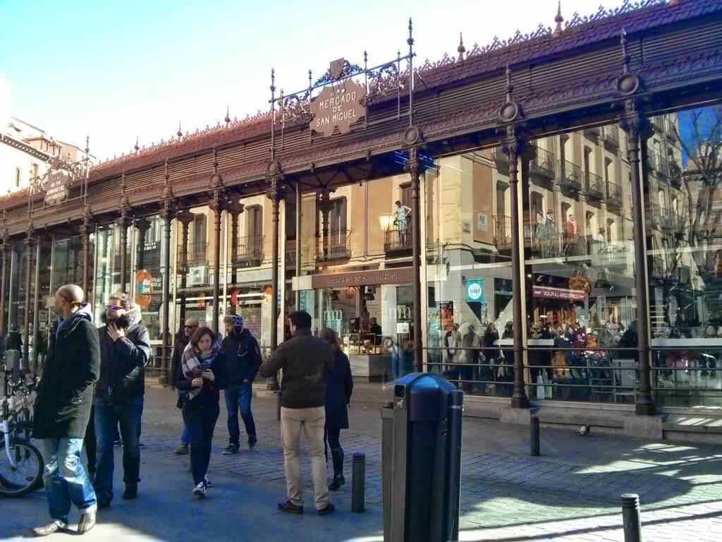 ¿Qué ver en Madrid en un día? Mercado de San Miguel