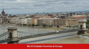 Ciudades Favoritas de Europa