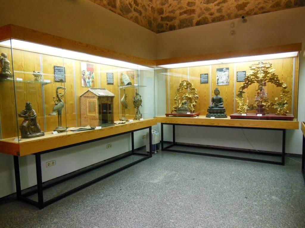 Museo en el interior del monasterio