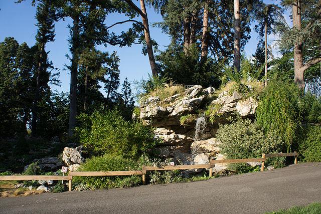 Parc des Eaux-Vives © Wikipedia