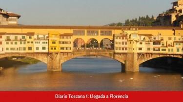 Diario Toscana 1: Llegada a Florencia