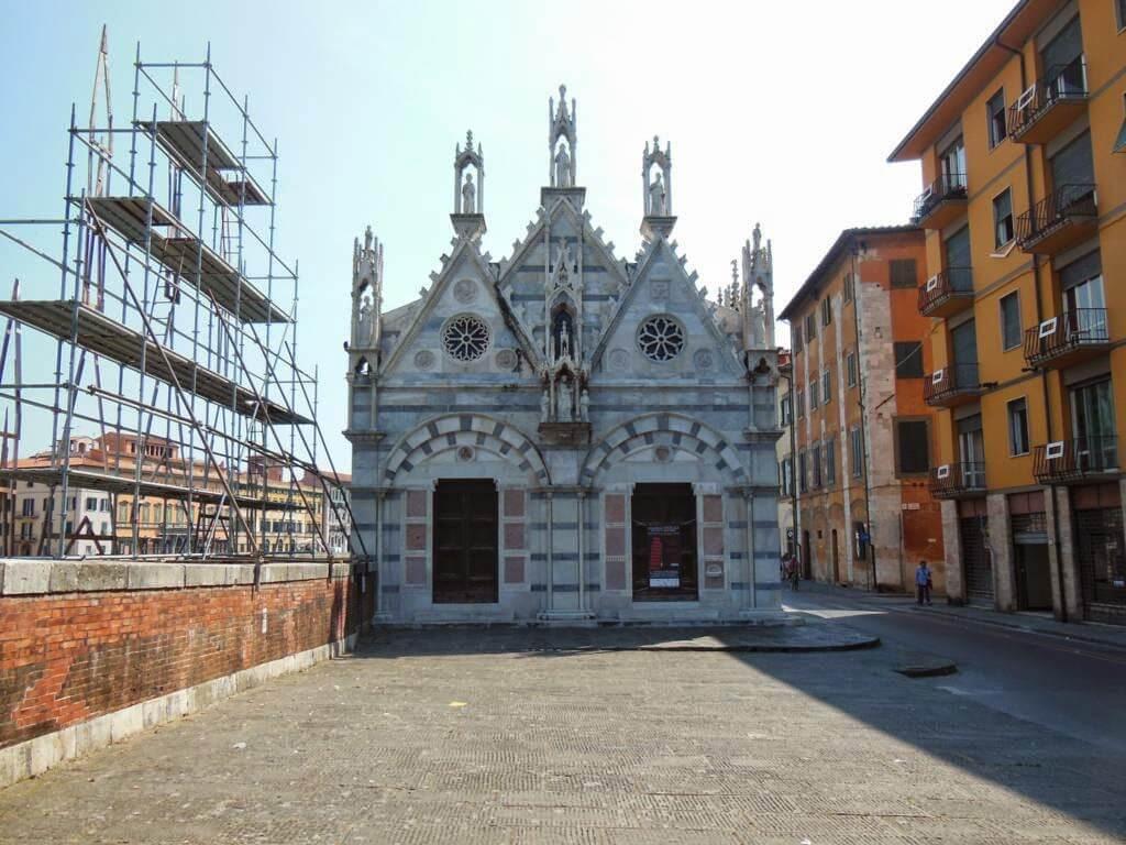 ¿Qué ver en Pisa y Lucca en un día? Iglesia Della Spina
