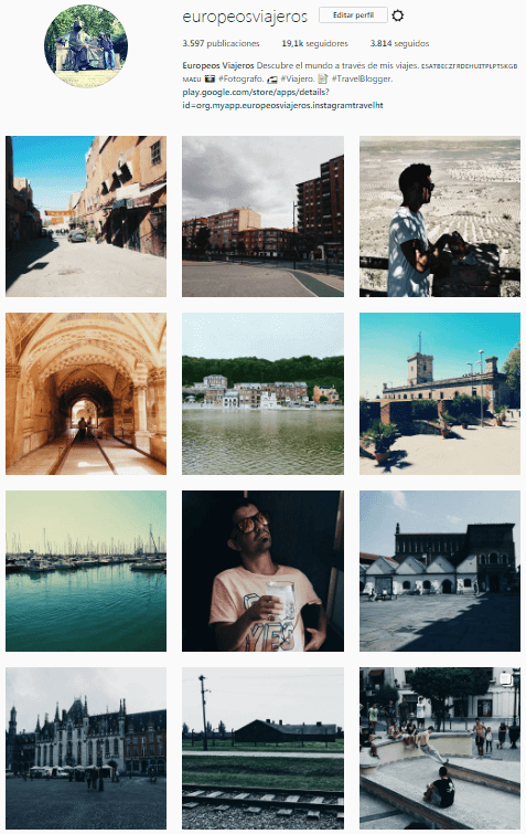 20 cuentas de viaje de instagram I en español