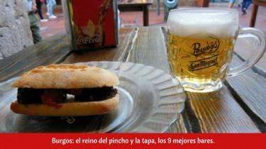 Burgos: el reino del pincho y la tapa, los 9 mejores bares.