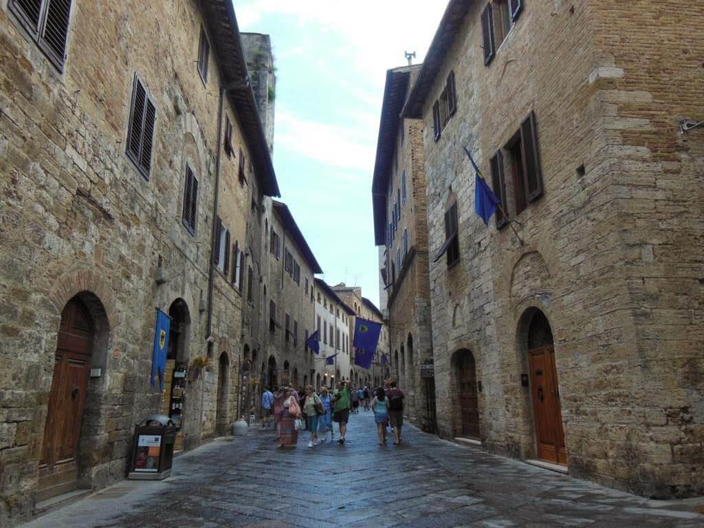 San Gimignano calles