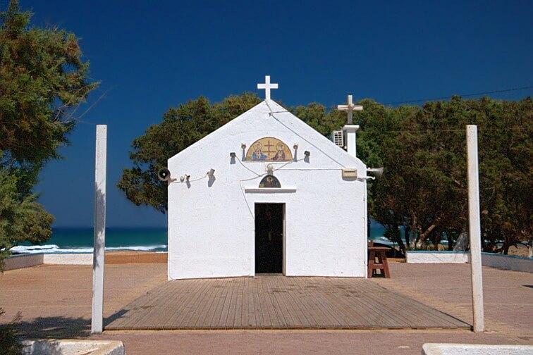 ¿Qué ver en Gouves en un día? Iglesia en Kato @ Wikimedia