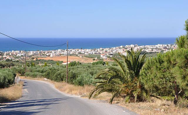 La localidad de Kokkini Hani, en el municipio de Gouves, en Creta @ Wikimedia