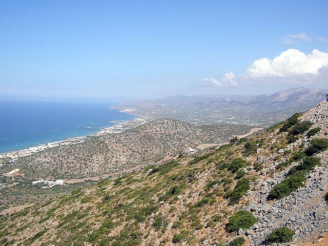Panorámica de la zona de Gouves, en Creta (Grecia) @ Wikimedia