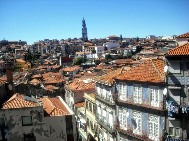 Vistas de la ciudad desde la plaza de la Catedral