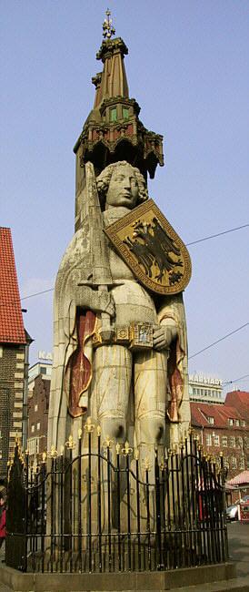 Estatua de Rolando @wikimedia
