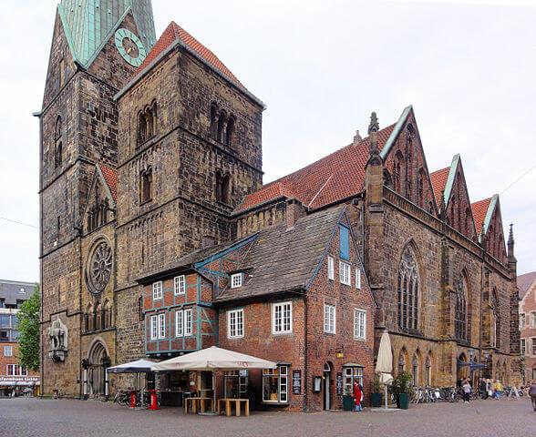 ¿Qué ver en Bremen en un día? Iglesia de Nuestra Señora @wikimedia