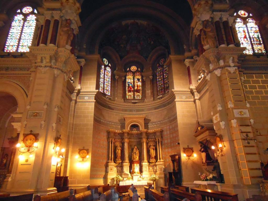 Magnífico interior de la iglesia