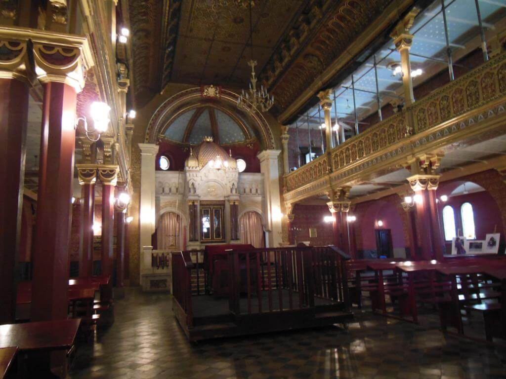 Interior Tempel synagogue