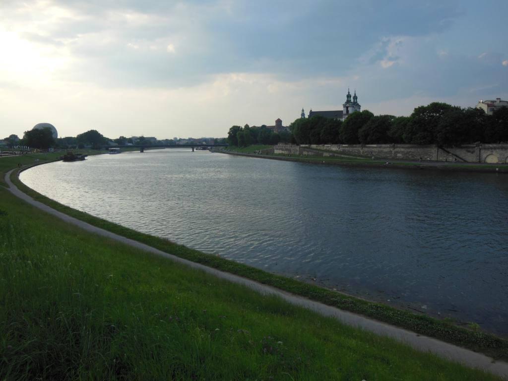 Atardecer en Cracovia