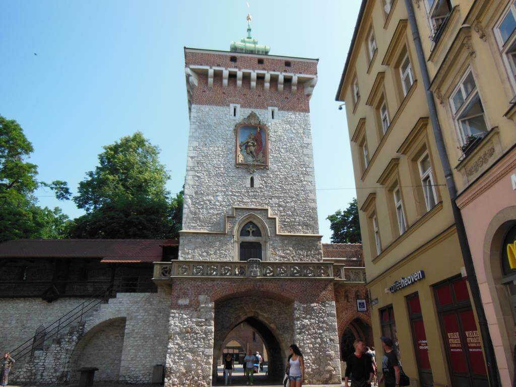 Torre de entrada a Cracovia