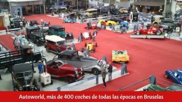 Autoworld, más de 400 coches de todas las épocas en Bruselas
