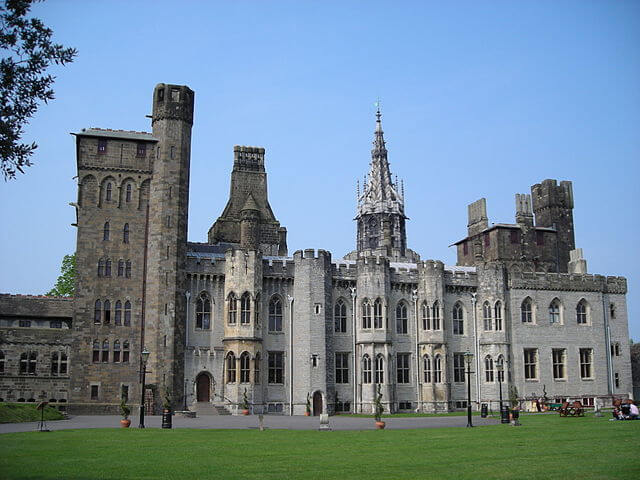 Castillo de Cardiff @Wikimedia