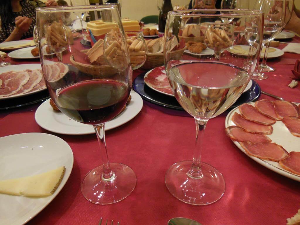 Cena de ibéricos en el Hotel Torres
