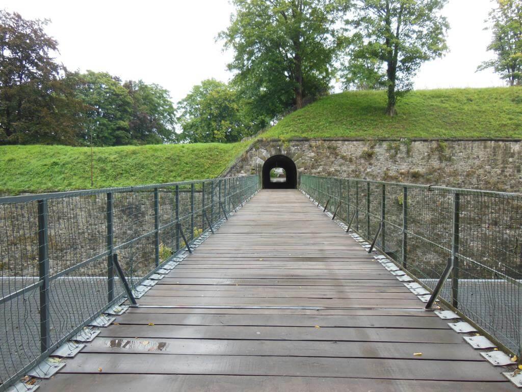 Caminando por la Ciudadela de Namur