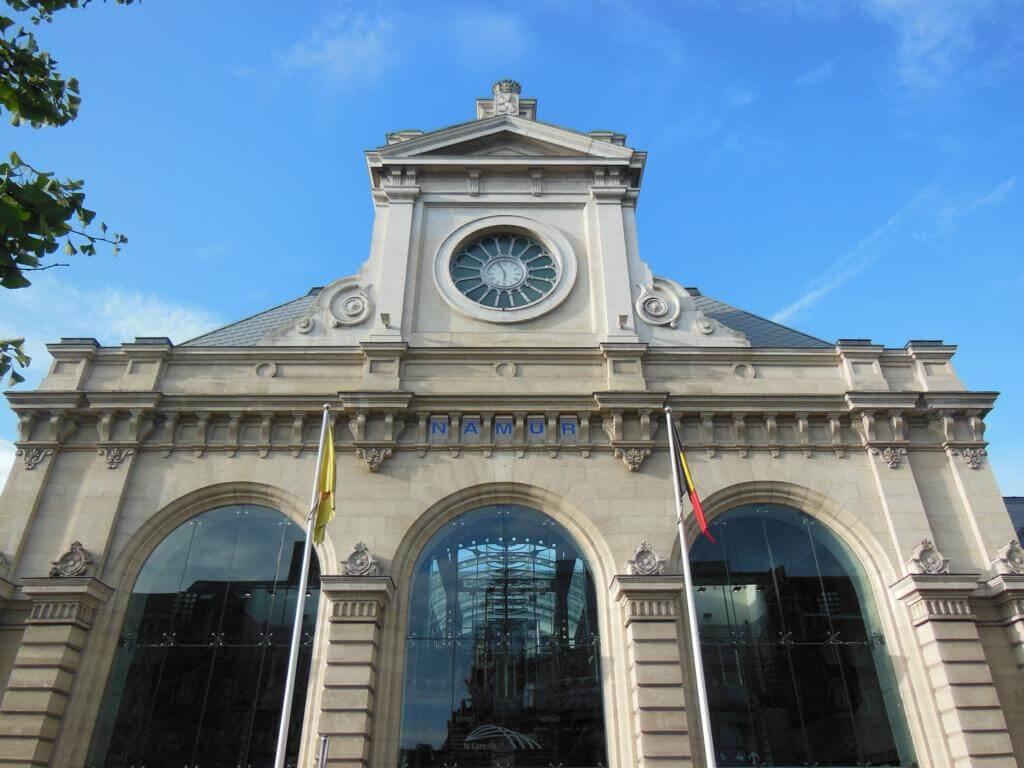 Estación de tren de Namur