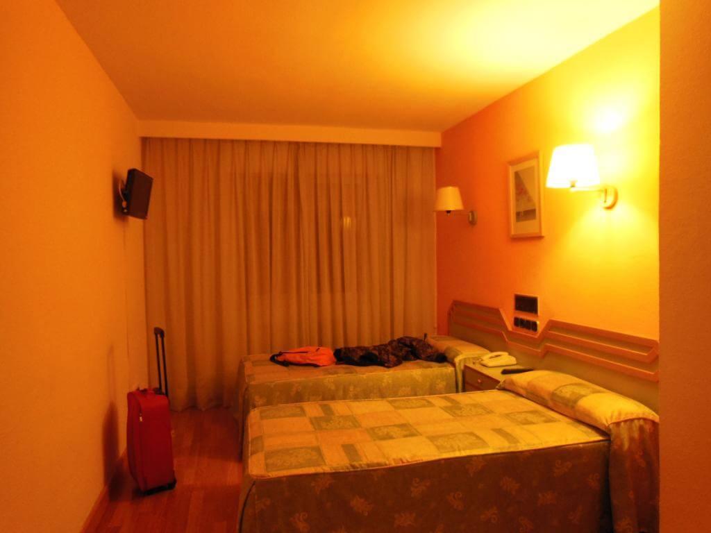 Habitación en el Hotel Torres