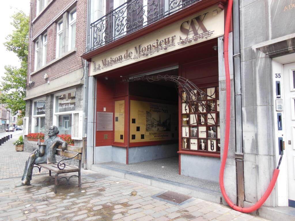 ¿Qué ver en Dinant en un día? La Maison de Monsieur Sax (Adolphe Sax), el inventor del saxofón