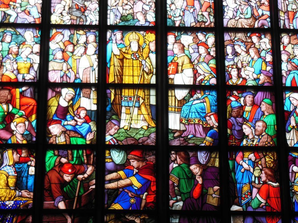 Vidrieras de la Catedral de Amberes