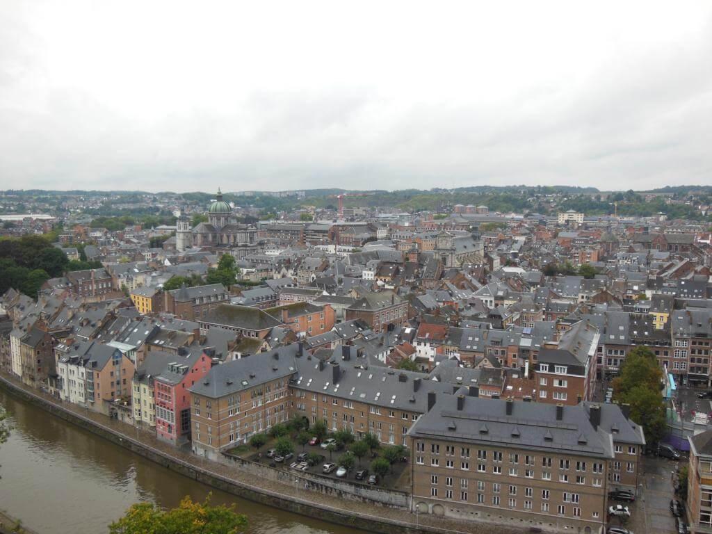 Vistas desde Namur, y su preciosa Ciudadela