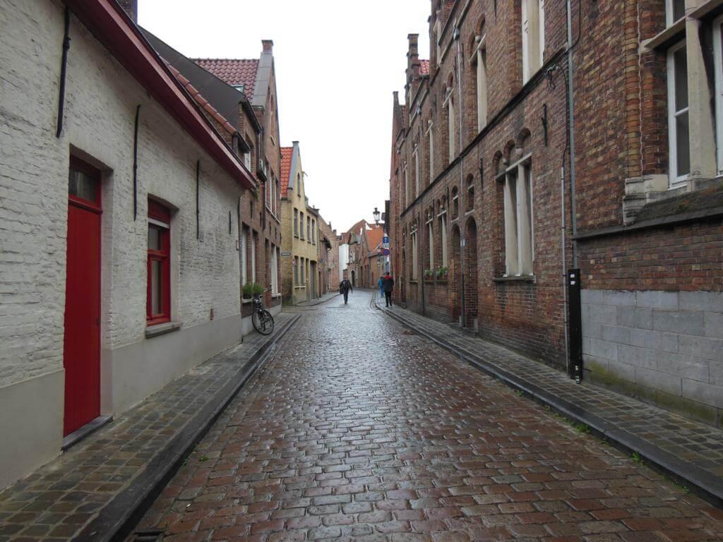 Calles de la ciudad de Brujas