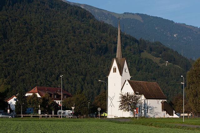 Capilla de St. Leonhard @Wikimedia