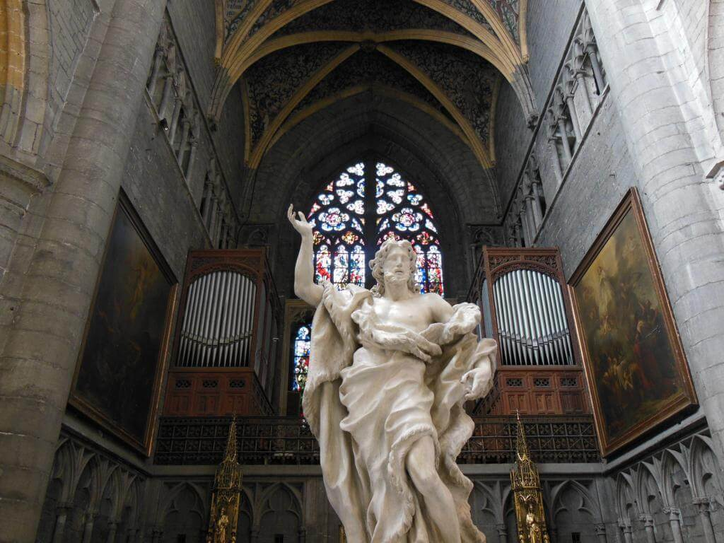 Interior Cathedrale Saint-Paul