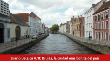 Diario Bélgica 4/8: Brujas, la ciudad más bonita del país