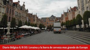 ¿Qué ver en Lovaina en un día?