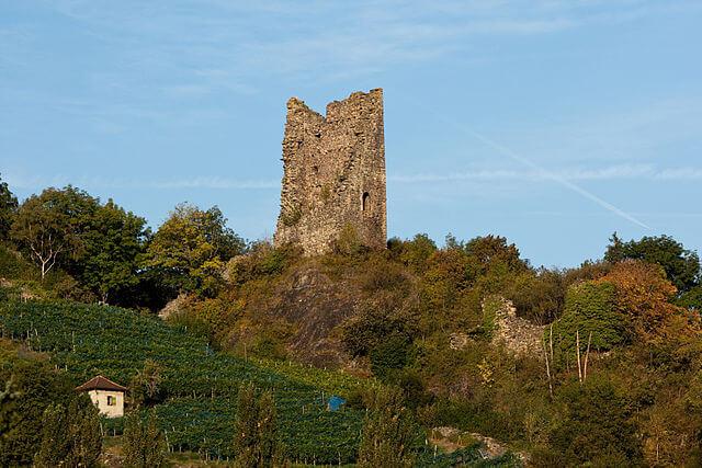Ruinas del burgo de Freudenberg @Wikimedia