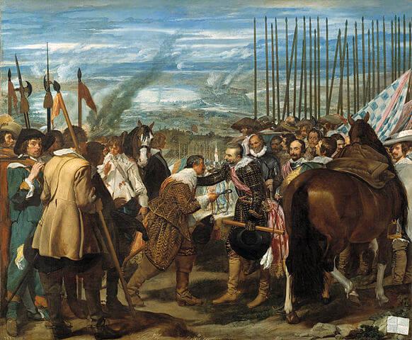 """Cuadro """"La rendición de Breda"""" de Diego Velázquez"""