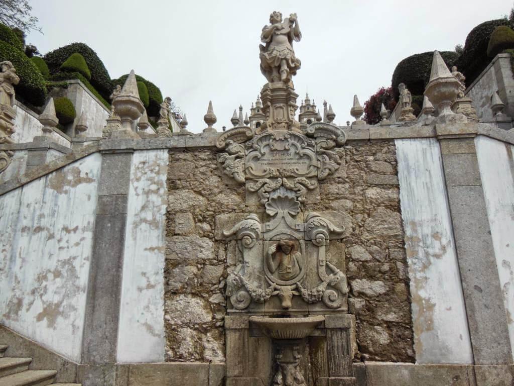 Una de las fuentes de la bajada del Santuario