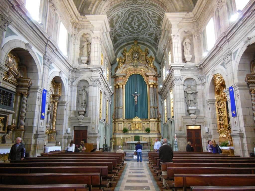 Interior del Convento dos Congregados