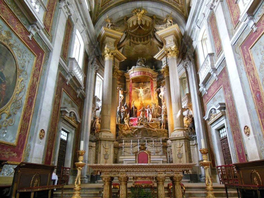 Interior del Santuario Bom Jesus do Monte