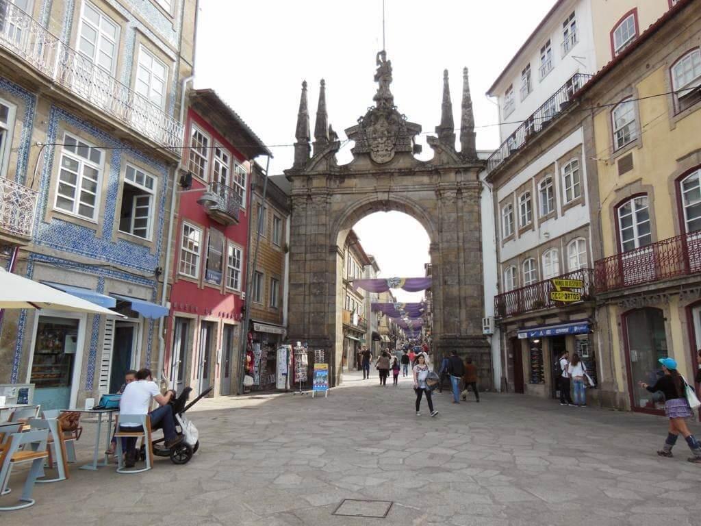 Arco da Porta Nova de entrada a Braga