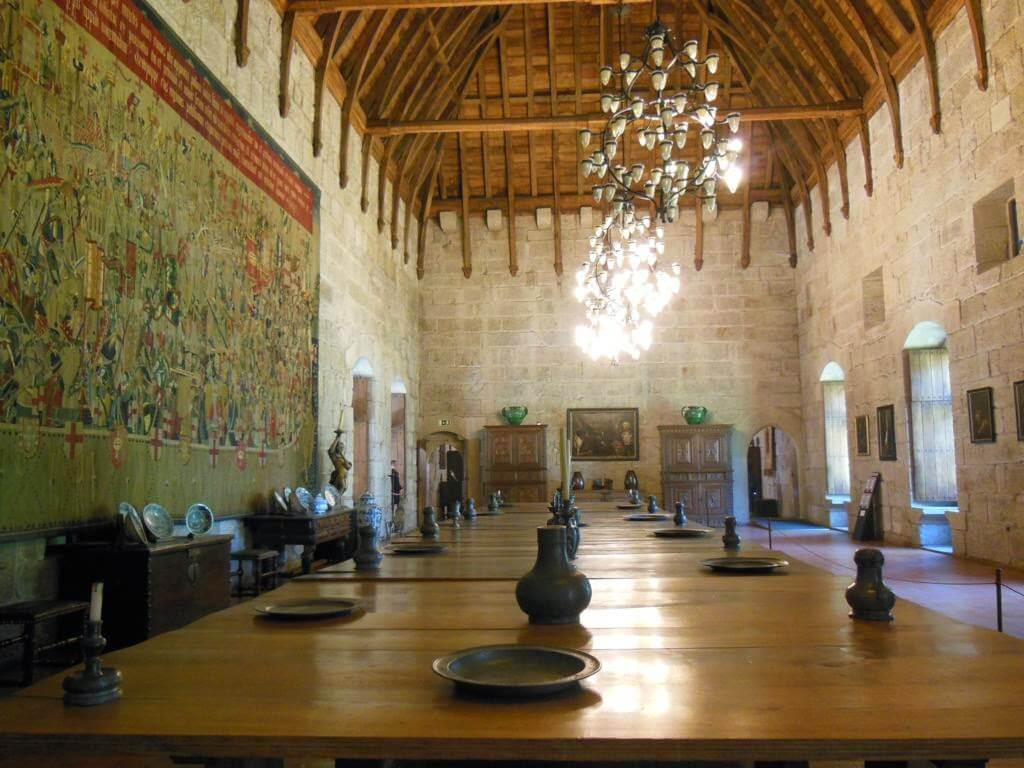 Interior del Palacio de los Duques de Braganza