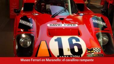 Museo Ferrari en Maranello: el cavallino rampante
