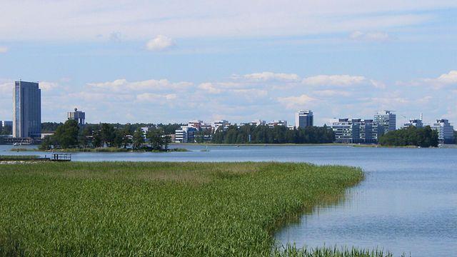 Panorámica de Espoo (Finalndia) @wikimedia