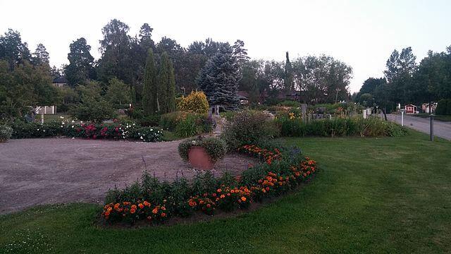 Parque urbano de la ciudad de Espoo @wikimedia