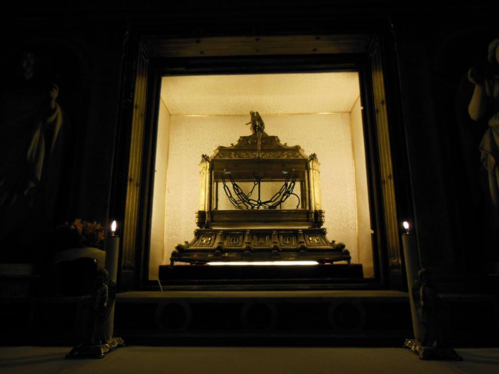 Cadenas en la Basílica de San Pietro in Vincoli