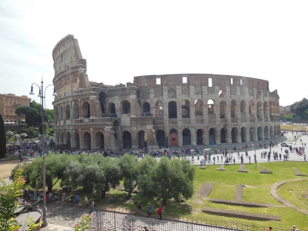 Visita al Coliseo, Foro y Palatino