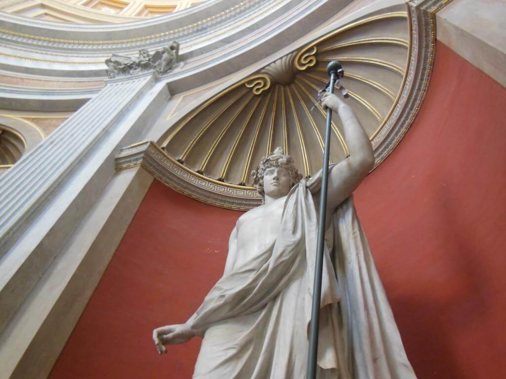 Escultura en el Vaticano