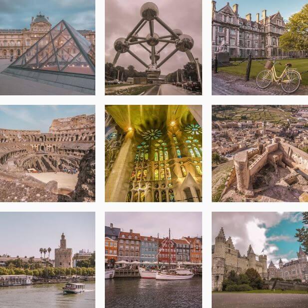 Instagram Europeos Viajeros. Descubre frases de viajes y amor.