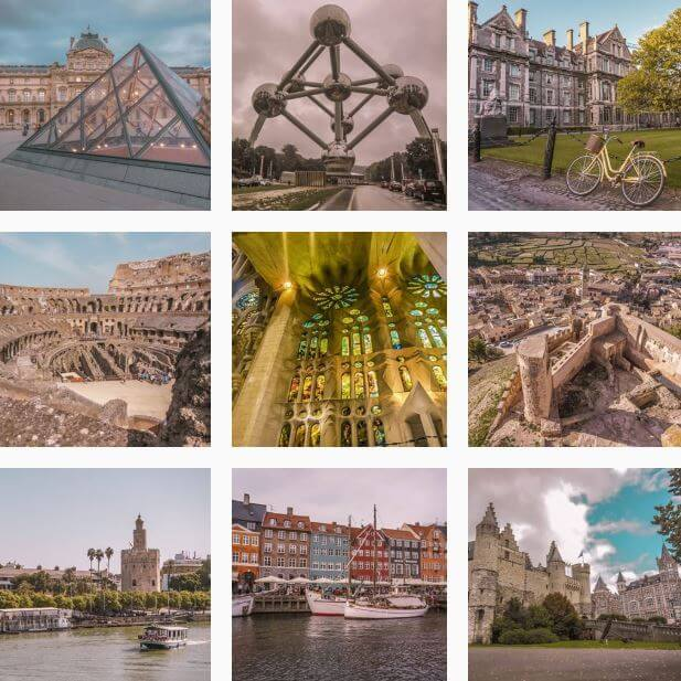 Instagram Europeos Viajeros