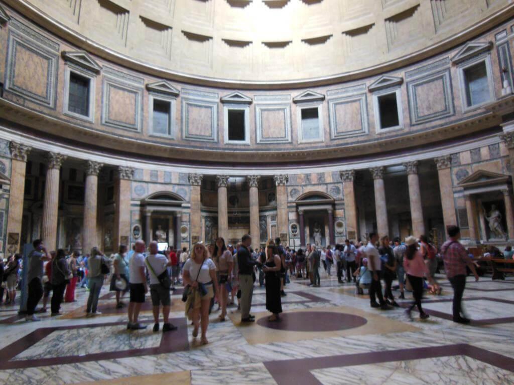 Interior del Panteón de Agripa